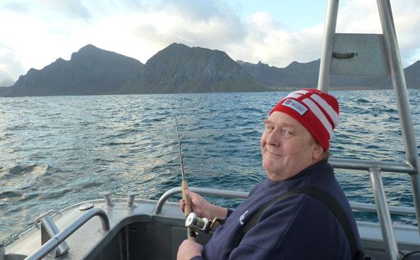 Yet another happy angler fishing report Norway Lofoten Islands