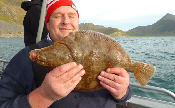 fishing report Norway on Johns first Plaice