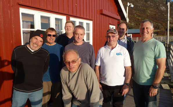 a Picture of the group fishing report Norway Lofoten