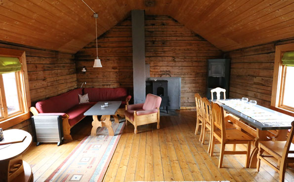 Highly decorated Cabins in Norway fishing report