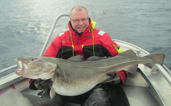 60Lb Cod from Norway fishing report