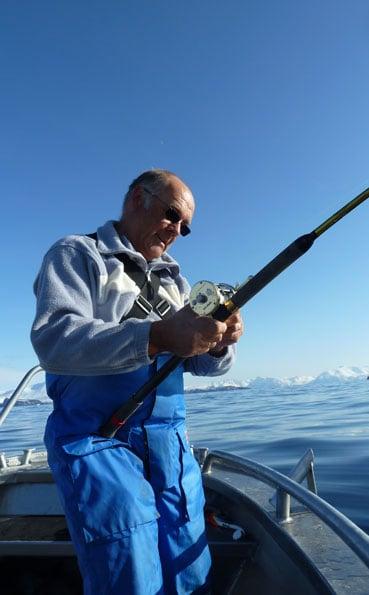 Norway fishing report of flat calm seas