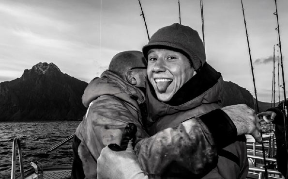Norway fishing report Hugs all round