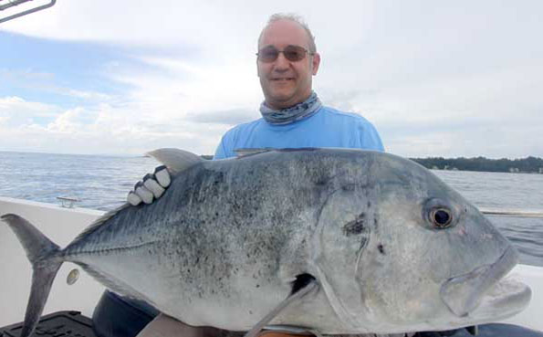 he finally one the battle of this gt Fishing Report Andaman