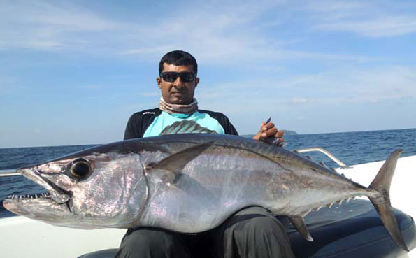 Fishing Report Andaman of so many huge dogtooth tuna