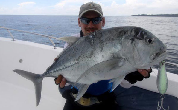 Fishing Report Andaman of how to catch GT