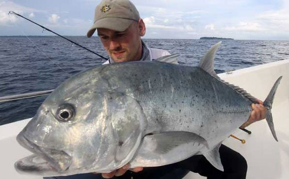 He is impressed with GT Fishing Report Andaman