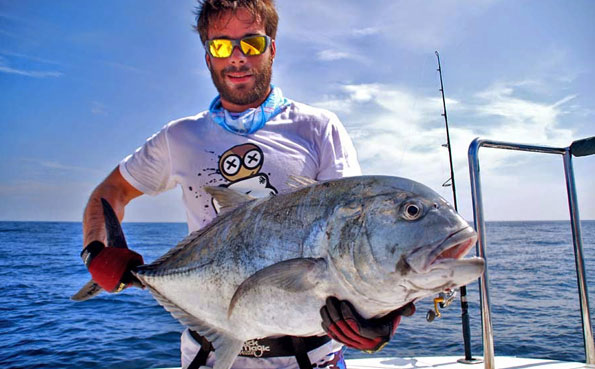 These hard fighting GT's are the best Sri Lanka Fishing Report
