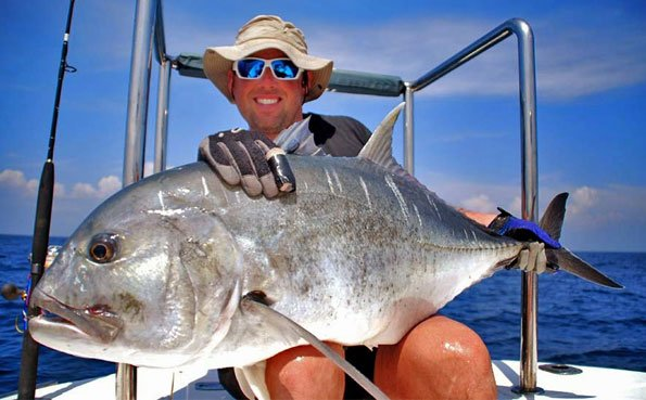 A very angry looking Gt Sri Lanka Fishing Report