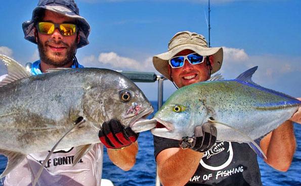 Sri Lanka Fishing Report of blue fin trevally