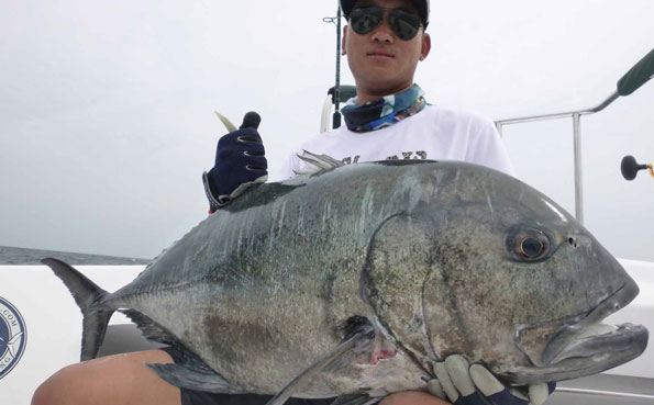 Sri Lanka Fishing Report of a monster GT