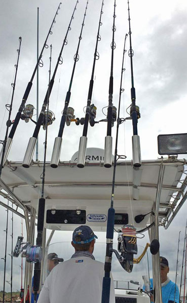 The rods and reels we use in Sri Lanka Fishing Report