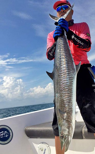 4Ft Spanish Mackerel Sri Lanka Fishing Report