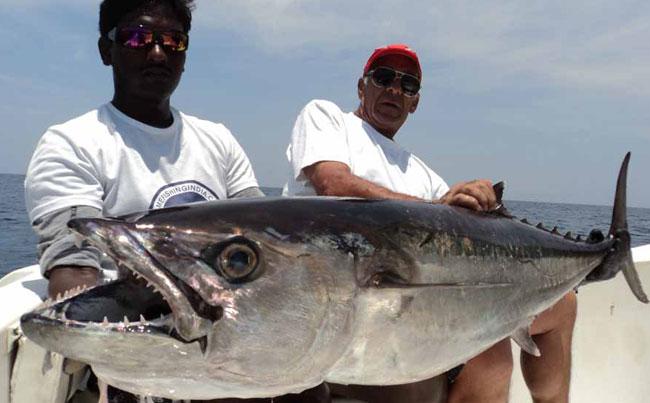Andaman Fishing Report of a huge Dogtooth tuna
