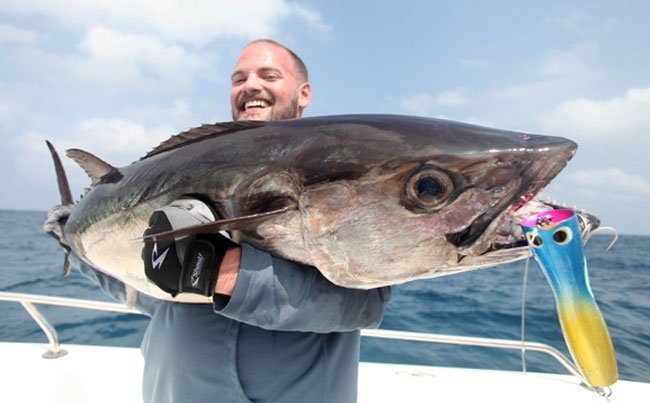 Showing you the lure we use Andaman Fishing Report