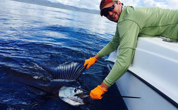 One of the best sailfish places Costa Rica Fishing Report
