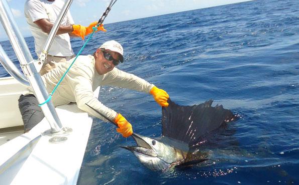 That is one huge Sailfish Costa Rica Fishing Report