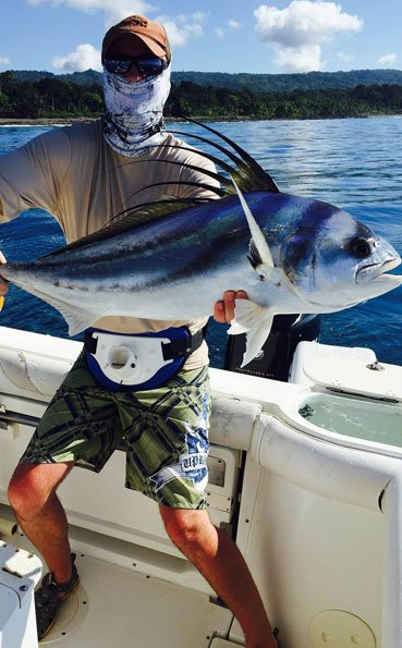 Thats one pretty Rooster fish Costa Rica Fishing Report