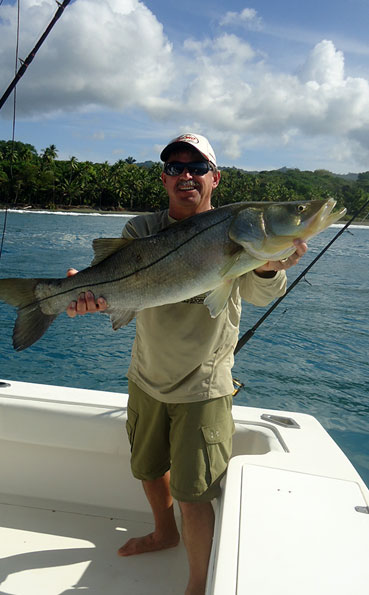 Snook fishing is brilliant at Costa Rica Fishing Report