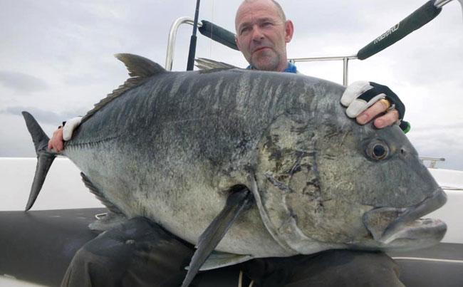 Huge black GT Fishing Report Sri Lanka