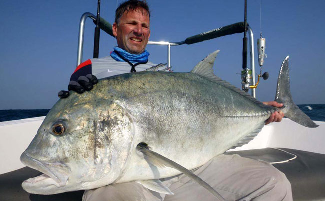 What an impressive GT Fishing Report Sri Lanka
