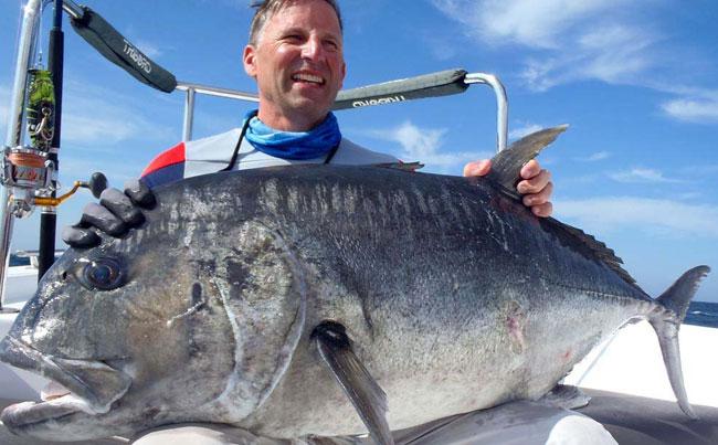 Big Black GT Fishing Report Sri Lanka