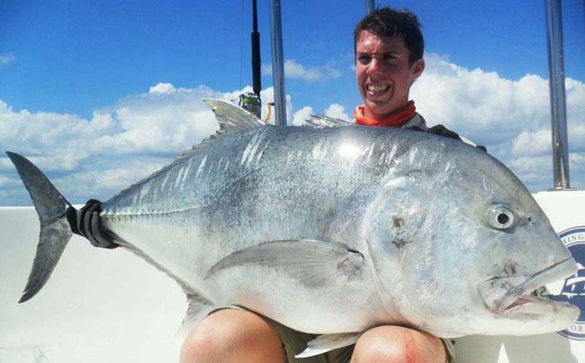 Bright chrome Gt Fishing Report Sri Lanka