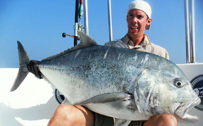 The biggest GT of the year Fishing Report Sri Lanka
