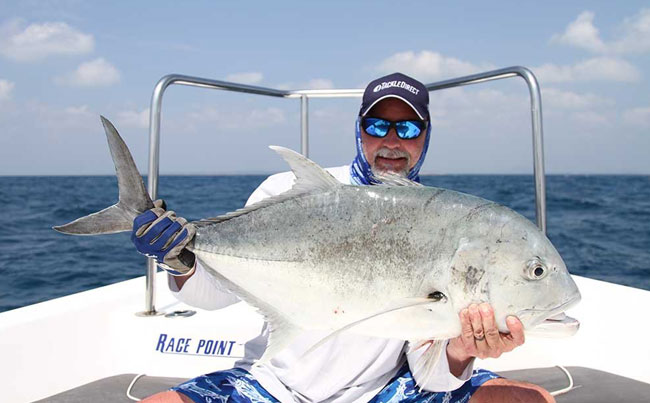 His second biggest GT of the trip Sri Lanka Fishing Report