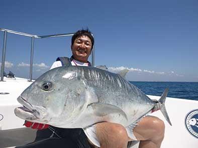 Sri Lanka Fishing Report of some fine looking GT's