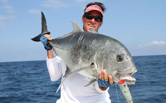 An amazing Gt from Sri Lanka Fishing Report