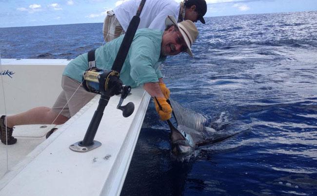 Costa Rica Fishing Report of loads of Sailfish