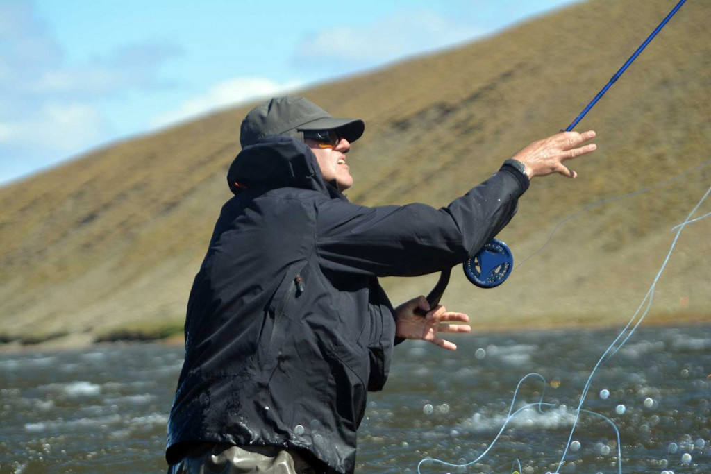 casting a fly for sea trout argentina Sea Trout Rio Gallegos