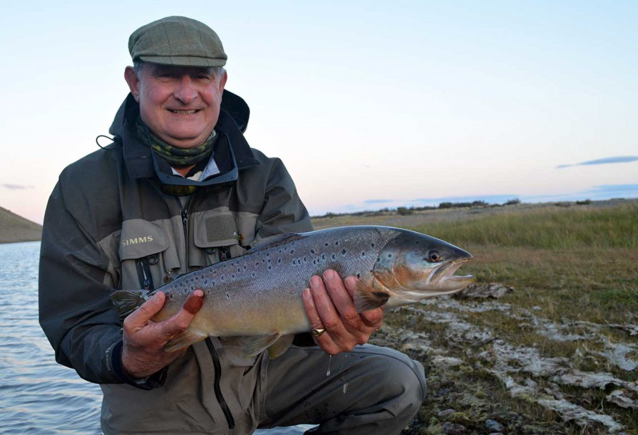 Sea trout fishing argentina Las Buitreras week 9 picture of cracking fish