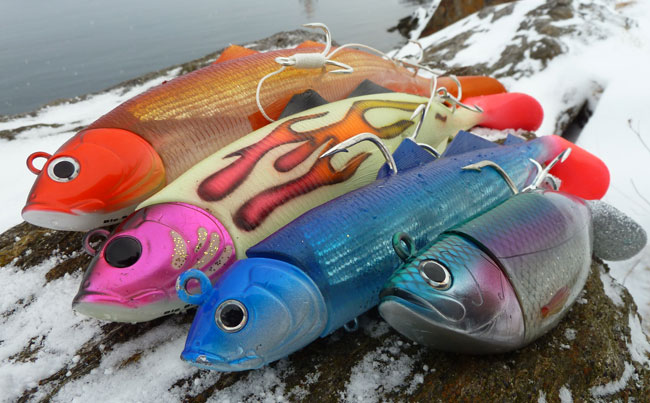 Norway fishing report of the lures we use