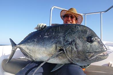 Black GT Sri Lanka Fishing Report