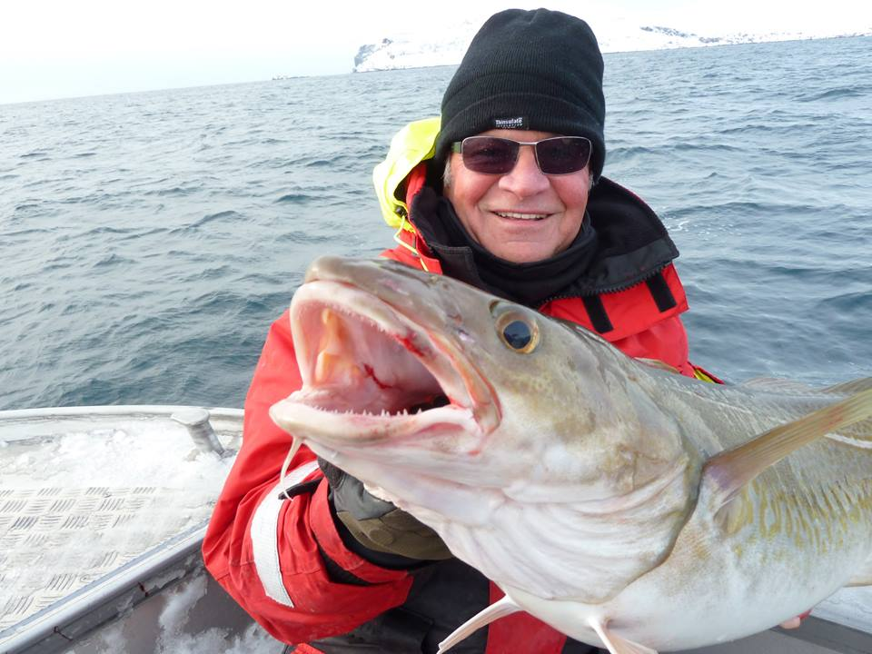Even the Cod is smiling for this Fishing Report Norway