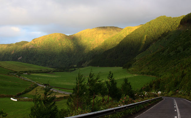 Stunning views of the Azores Azores Fishing Report