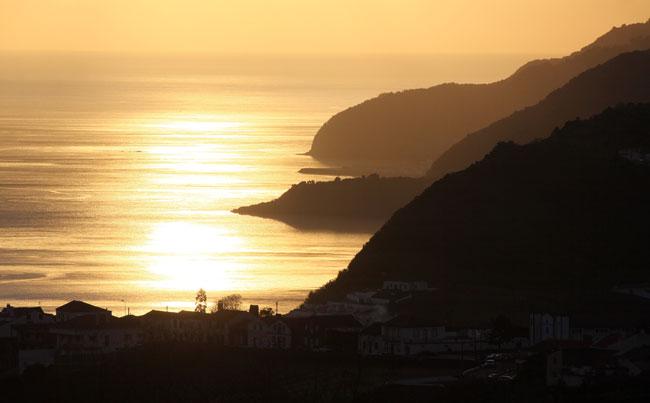 Stunning Azores Ariel Shot Azores Fishing Report