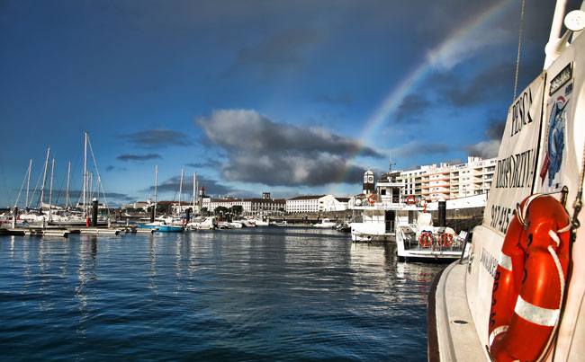 View of the Marina Azores Fishing Report