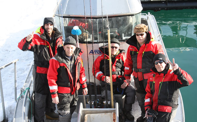 The Fishing report Norway Group of guys