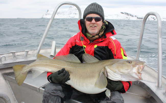 Cold day in Norway Fishing report Norway