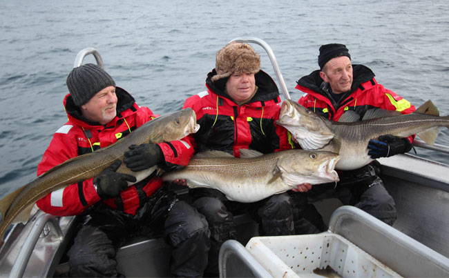 Fishing report Norway of these friends travels