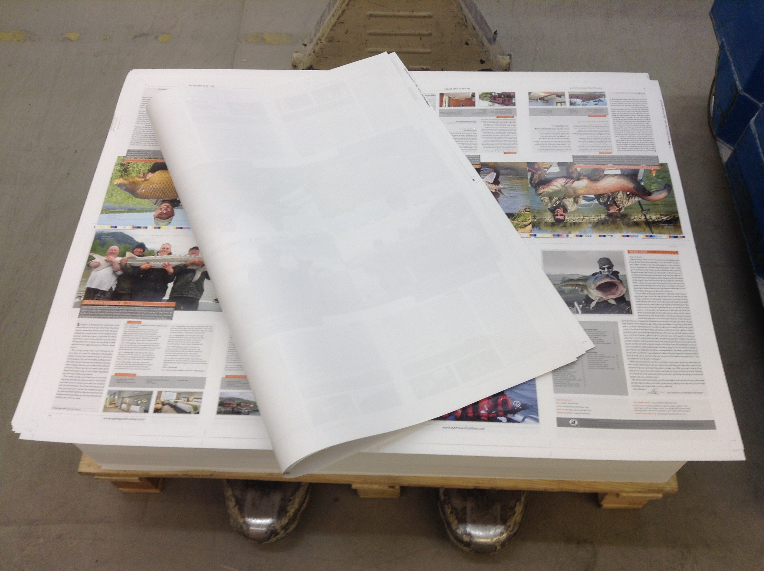 Pages loaded ready to be bound