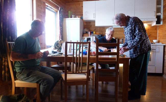 Norway Fishing Report of the cabins we stay in