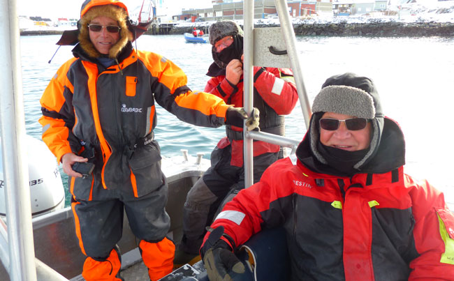 My group Norway Fishing Report with me all week