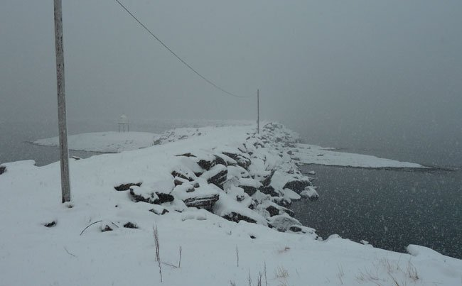 Norway Fishing Report of the strong snow we had