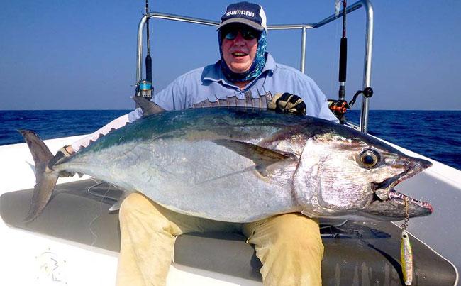 Fishing Report Sri Lanka of huge Dogtooth Tuna