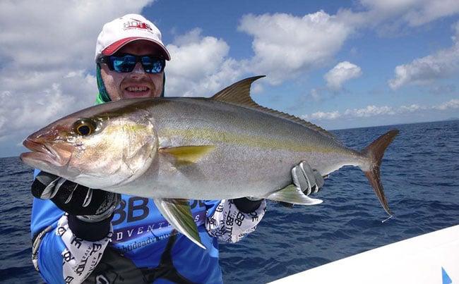 Amber jack Fishing Report Sri Lanka