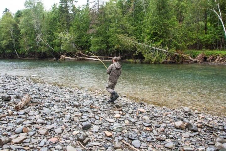 Salmon Fly Fishing